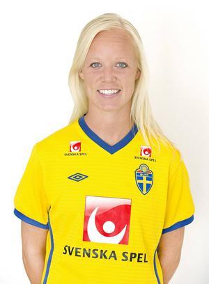 Helsingborgsfödda Caroline Seger, 30 år i år, är lagkamrat med Lisa Dahlqvist i PSG.
