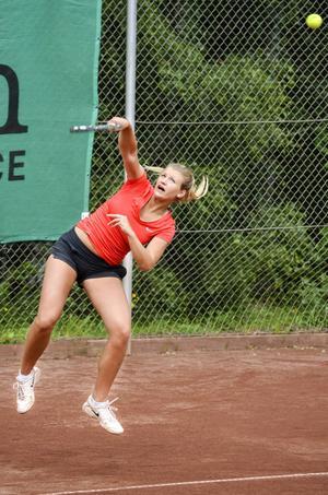 Julia Keranovic hade en del matchbollar att vinna turneringen på, utan framgång.