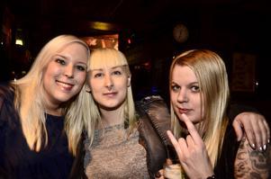Caroline Andersson, Caroline Einarsson och Johanna Vestling.