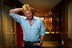 """Förutom Melodifestivalen är Dolph Lundgren aktuell med actionfilmen """"The Expendables"""" där även Arnold Schwarzenegger och Sylvester Stallone medverkar.  Foto: Christine Olsson"""