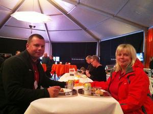 Pär Nordström och Christina Jackson tyckte i alla fall att Jonas Gustavsson hade intressanta saker att säga.