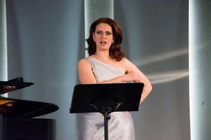 Gabriella Paces kroppsspråk förstärkte sången.