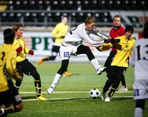 ÖFK:s Daniel Andersson svarade för fyra mål i gårdagens DM-seger mot Brunflo.