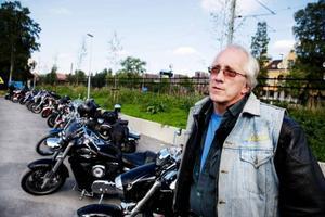 Rainer Westerberg från Slandrom var en av cirka 180 förare som körde årets Storsjön Runt.