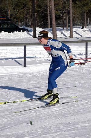 Evelina Settlin har fått en kanonstart på sin juniorkarriär.