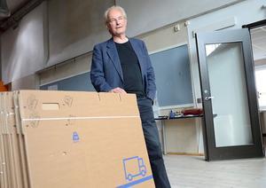Snart går flyttlasset från Formens hus. Exakt var Fidus nya lokaler blir är enligt rektor Bengt Rodell inte helt klart ännu.
