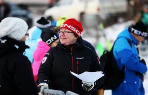 Arrangemanget hade inte kunnat genomföras utan engagerade volontärer. Rutinerade Eva Henriksson var en av dem. Hon tog på sig volontärvästen första gången 1998.