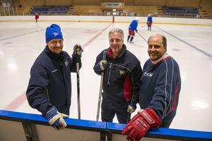 Mathias Svedberg, Peter Smedberg och Peter Fasth ska lotsa Kovland i den nya ettan.