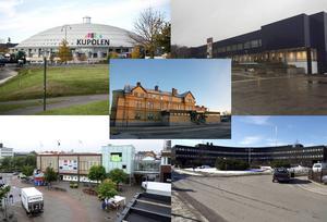 Gallerior, köplador, och modernistiska byggnader från 60- och 70-talet stör stadsbilden i Dalarna enligt DT:s läsare.