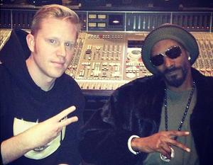 Erik med Snoop Dog.
