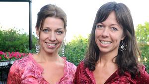 Christina och Rigmor Gustafsson.