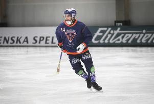 Samuli Helavuori gjorde ett av Bollnäs mål i segern mot Veiterä.