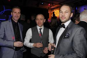 Jonas Hultström, Martin Folkesson och Tomas Johansson.