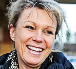 Britt-Marie Sandqvist, 51 år, glad tidsmiljonär, Stugsund- Inte någonting. Jo, jag kommer att läsa den här enkäten i tidningen.