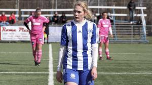 Alexandra Simonsson, Avesta AIK, har tillsammans med sin mittfältspartner Elin Wohlfart gjort 10 mål hittills i division 2.