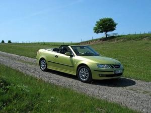 Saab 9-3 ligger på åttonde plats med 125 sålda bilar.Foto: Per-Olof Lönnroth