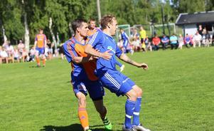 Daniel Ölander fick slita till slut.