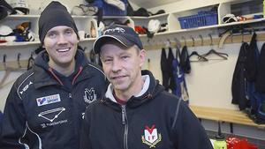 Olle Wiberg (till vänster) och Alexander Zinkevitch.