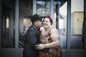 Olle Persson och Emma Lööf är vana föreläsare och delar gärna med sig av sina erfarenheter.