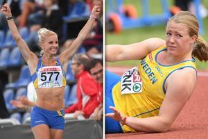 Malin Marmbrandt och Sofi Flink tog båda medalj på SM