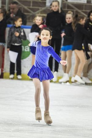 Anna Smidt kom på delad tredje plats i minior C 2.