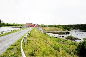 Vid kraftverket är det stopp för fiskarna för fortsatt vandring ner mot Indalsälven.
