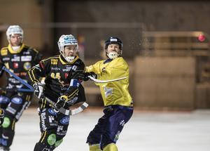 Spelar eller spelar inte? Det är osäkert om Magnus Frylund  finns på isen ikväll mot Vänersborg.