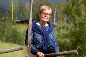 Martina Quich hemma i Gagnef på besök sommaren 2014.