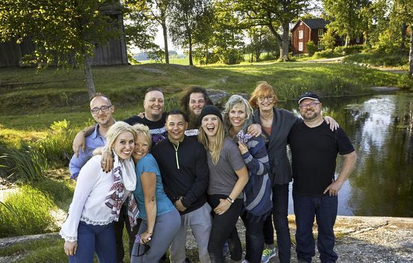 Deltagarna i Allt för Sverige. Foto: SVT