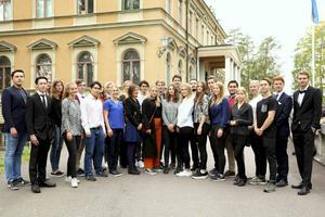 Samtliga stipendiater från Falun, Borlänge, Gävle, Karlstad, Stockholms Universitet samt UF:s Teknikstipendium.