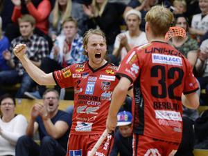 Johan Samuelsson noterades för tre målgivande passningar när Granlo vann.