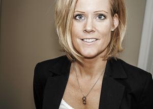 Scandic Gävles hotelldirektör Karin Lundman.