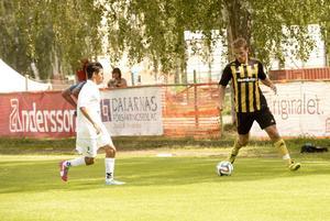 Petter Forslund var betydelsefull i Korsnäs offensiva spel i 3–0-segern mot seriejumbon Hille.