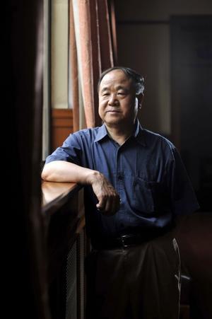 Mo Yan, mottagare av årets Nobelpris i litteratur.