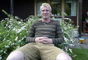Frö drygt en månad sedan var Petter Hansson
