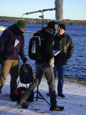 Ett kanadensiskt tv-team besökte länet i oktober och intervjuade Michael Eriksson för ett avsnitt om Storsjöodjuret till serien