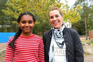 Sitimiya Melkas lärare Jessica Jonsson är stolt över sin klass.    – Det är mäktigt, de är fantastiska, säger hon.
