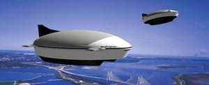 Helium skulle kunna användas som lyftgas för framtidens luftskepp.