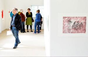 I lördags hade Östersunds kollektiva grafikverkstad vernissage för reprisen på sommarens utställning i Stockholm.