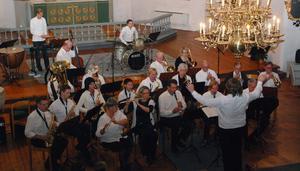 Kvällen avslutades av Hedemora musikkår som bland annat framförde ett musikmedley från musikalen Chess.