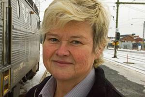 Annika Stunis, gruppchef för SJ:s lokförare i Östersund.