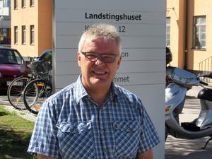 Christer Siwertsson (M) vädrar morgonluft, det kan bli ett maktskifte efter landstingsvalet. Men det är upp till MP att avgöra.