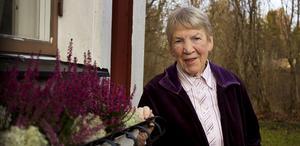 Ulla Eriksso flyttade från Berge i Sköns socken till Himmeta som nyutexaminerad småskollärarinna.