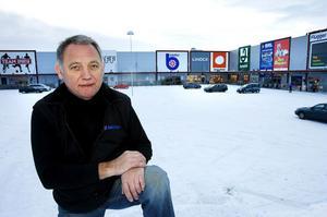 Lillänge är det område vi har enats om att satsa på då det gäller externhandeln utanför centrum, säger Lennart Ögren, ordförande i Östersunds köpmannaförening.