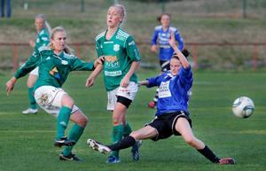 Amerikanskan Melinda Ingalls symboliserade fint ÖDFF:s styrka i derbymatchen mot K/D.