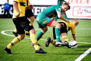 Per Fyhr svarade för Dalkurds mål i förlustmatchen mot Sirius.