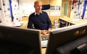 – Det ska inte gå att söka handlingarna på vår hemsida. Men vi visste inte om det, säger Anders Åberg, vd för Borlänge Energi. Foto: Johnny Fredborg