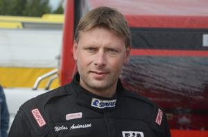 Niclas Andersson, Näsviken, hade bäst koll på grejorna på den dåliga banan i Sundsvall.