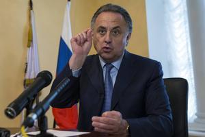Rysslands idrottsminister Vitalij Mutko. Arkivbild.
