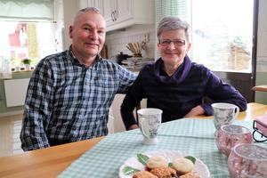 Benny och Margareta Andersson är stödfamilj för Ellen, som bor hos dem ungefär en helg i månaden.
